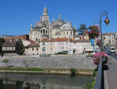 De imposante kathedraal van Périgueux (Foto: WikiCommons/Gilbertus)