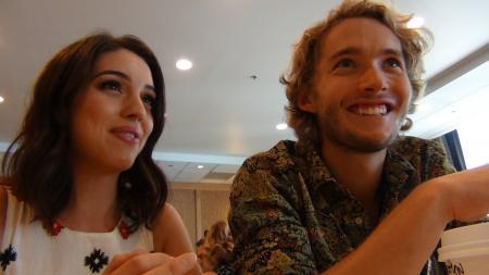 San Diego Comic-Con 2014: Adelaide Kane en Toby Regbo (Foto: Peter Breuls)