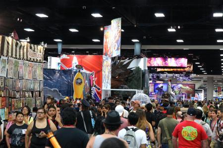 San Diego Comic-Con 2014: de beursvloer (Foto: Peter Breuls)
