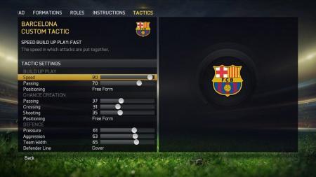 Fifa 15 teammanagement