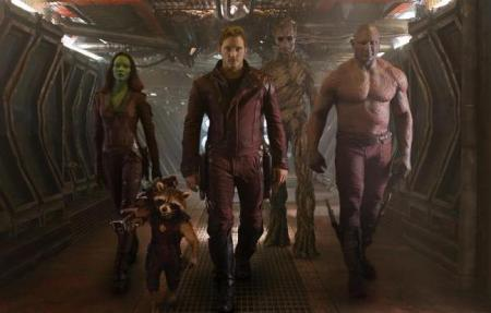 Guardians of the Galaxy hero shot