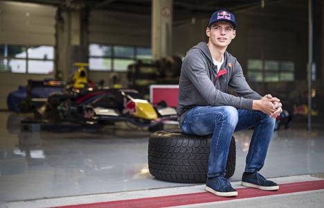 Max Verstappen naar Formule 1