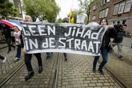 'Haagse wijken dicht tegen anti-islamprotest'