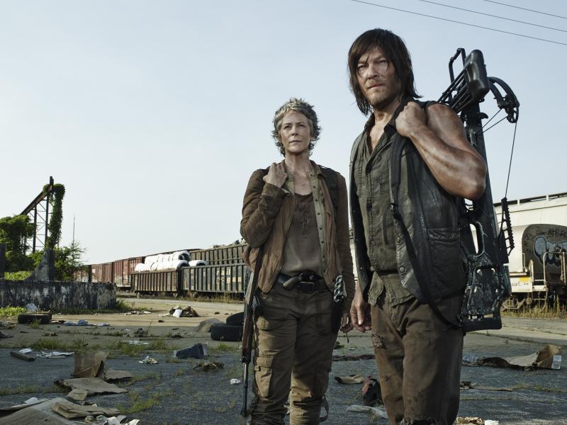 The Walking Dead 5: Melissa McBride en Norman Reedus
