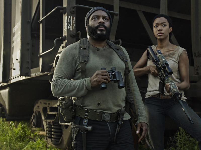 The Walking Dead 5: Chad Coleman en Sonequa Martin-Green