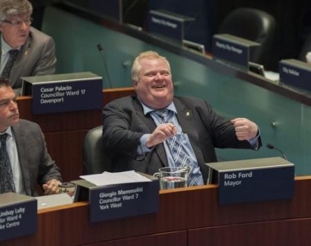 Broer vervangt Rob Ford in burgemeestersrace