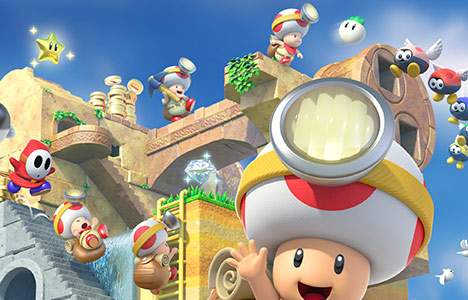 Preview: Captain Toad Treasure Tracker