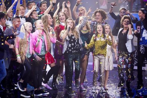 Julia wint Junior Songfestival