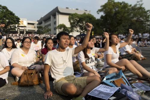 Betogingen Hong Kong lopen uit de hand
