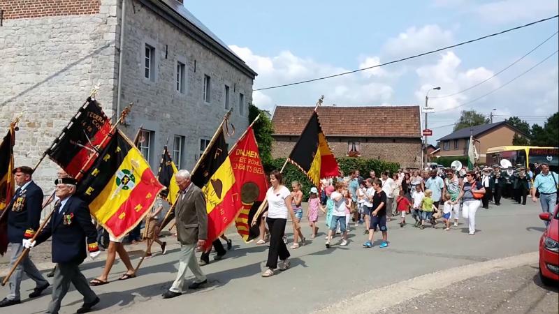 Een herdenking ergens in Belgi?