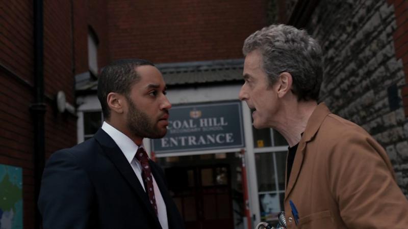 Doctor Who: The Caretaker: Danny en de Doctor