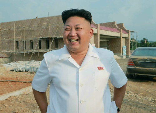 'Kim Jong-un niet ziek' (Foto: ANP)