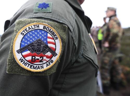 Amerikaanse militairen in Europa uit uniform