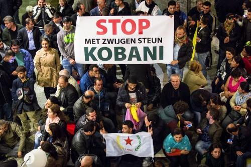 Koerden verlaten Tweede Kamergebouw