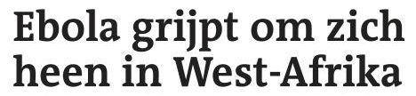 Uit het Dagblad van het Noorden van 1 april 2014
