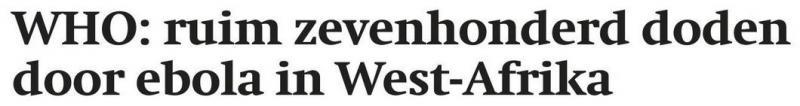 Uit het Friesch Dagblad van 1 augustus 2014