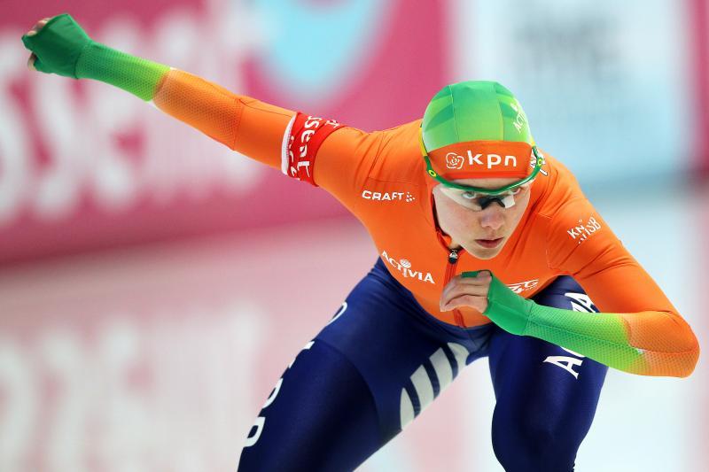 Van Riessen gaat schaatsen combineren met baanwielrennen (Pro Shots/Erik Pasman)