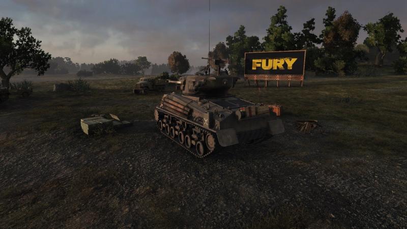 World of Tanks Fury