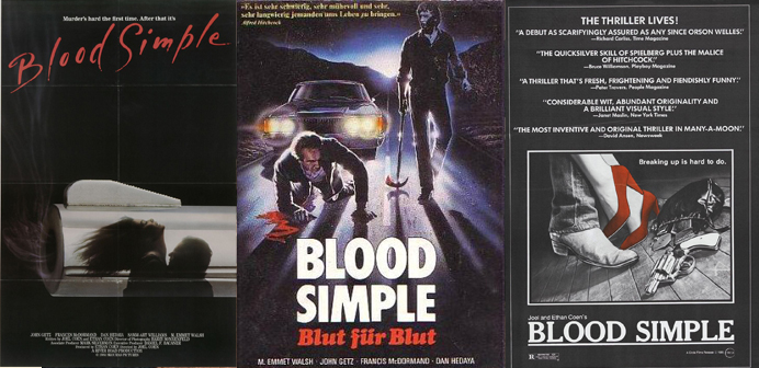 Blood Simple posters