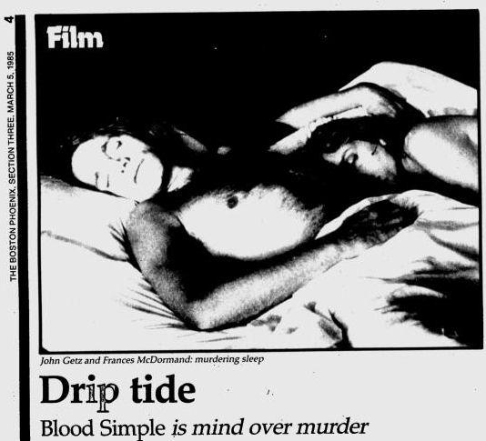 Uit de Boston Phoenix van 5 maart 1985