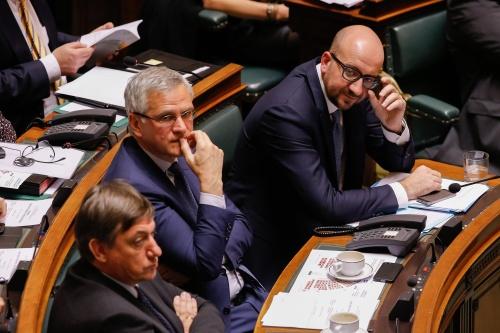 Tumult in parlement rond Belgische regering
