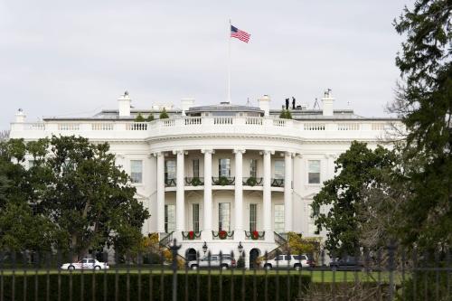 Weer incident bij Witte Huis
