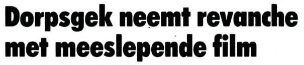 Uit het Nieuwsblad van het Noorden van 21 september 1984