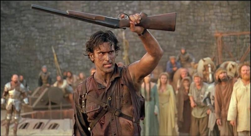 Bruce Williams als Ash in Army of Darkness