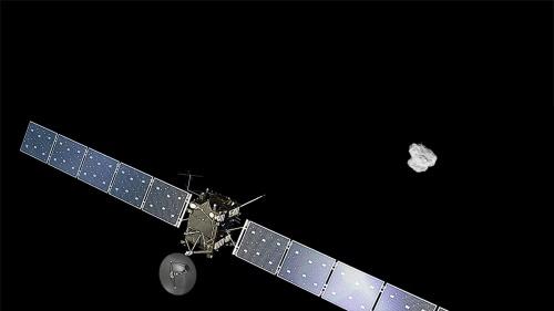 Europese komeetlander Philae is weer wakker