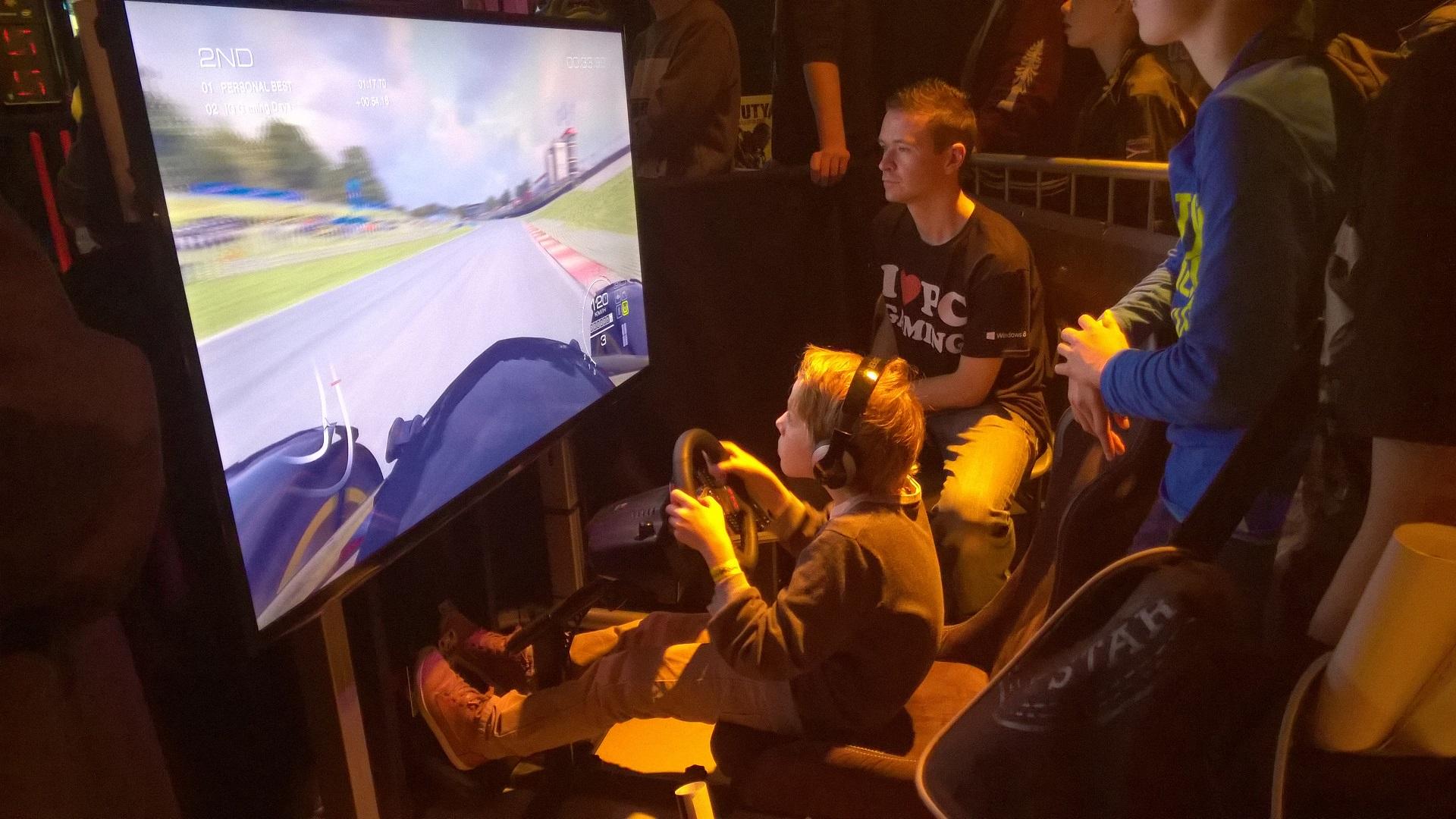 Grid Autosport concentratie