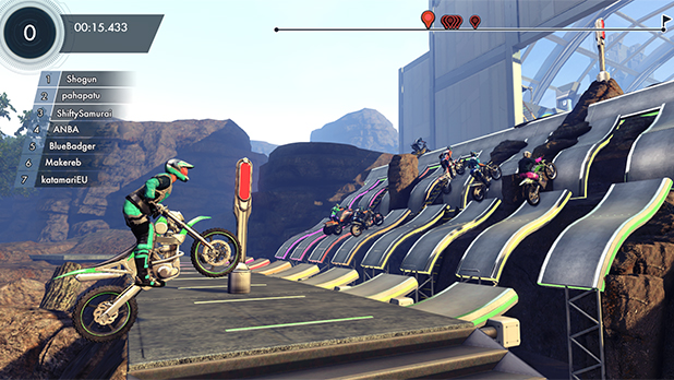 Trials Fusion multiplayer