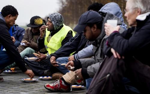 Eindhoven biedt bed en brood aan illegaal