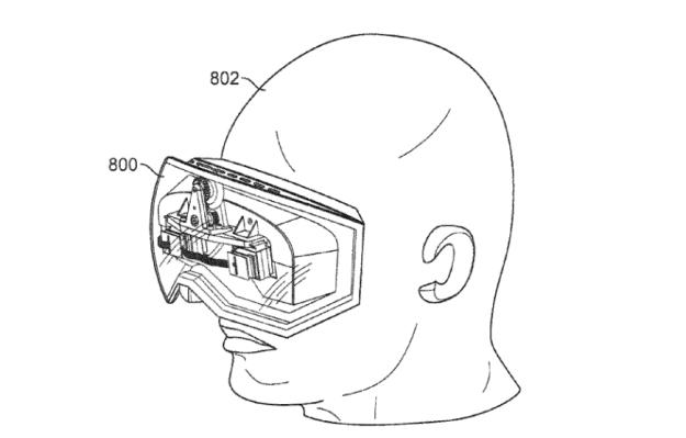 Apple Virtual Reality Patent