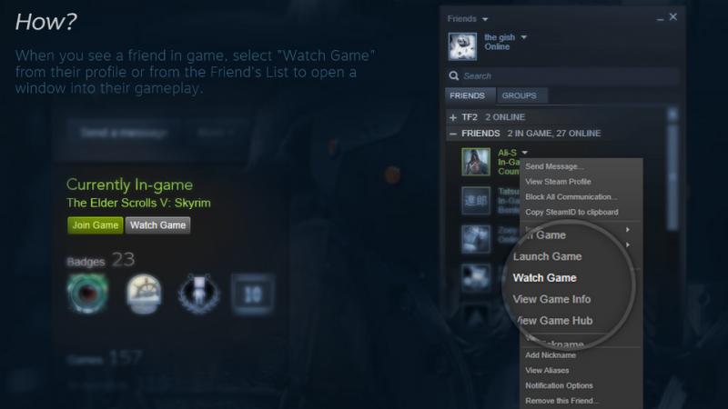 Steam komt met functie voor streaming