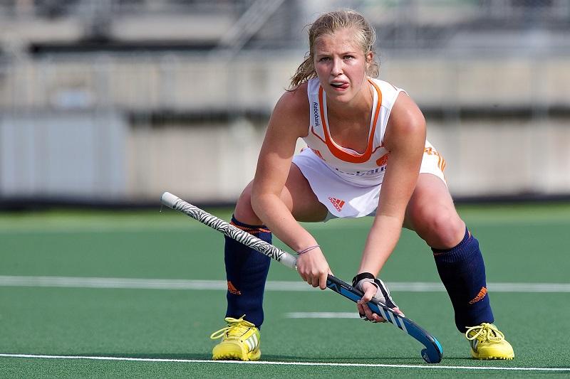 Xan de Waard viel in de prijzen tijdens de Champions Trophy (PRO SHOTS/Kay Int Veen)