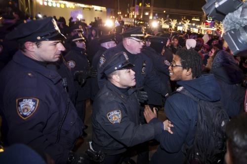 Weer ophef na optreden politie VS