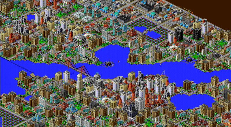 SimCity 2000 gratis op Origin