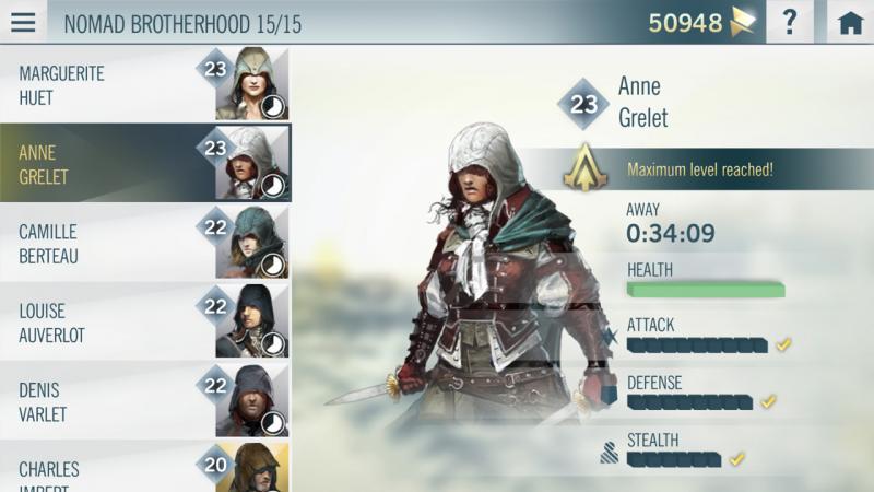 Assassin's Creed Unity compagnon app