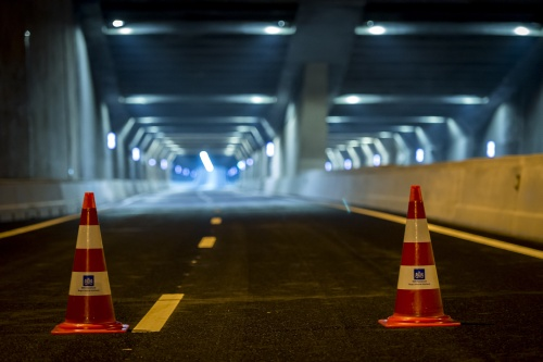 Coentunnel weer open na storing