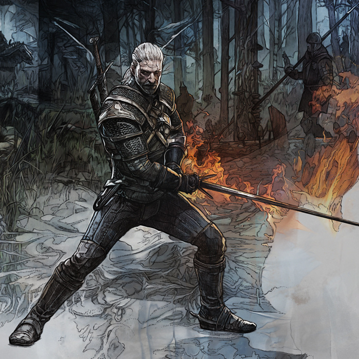 Witcher 3 art