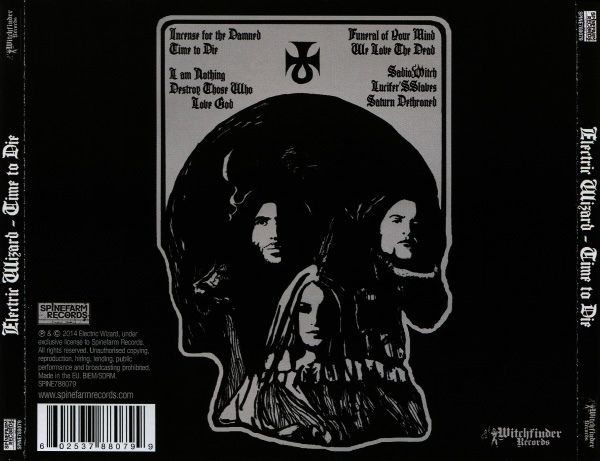 CD: Electric Wizard - Time To Die | Cabla.nl