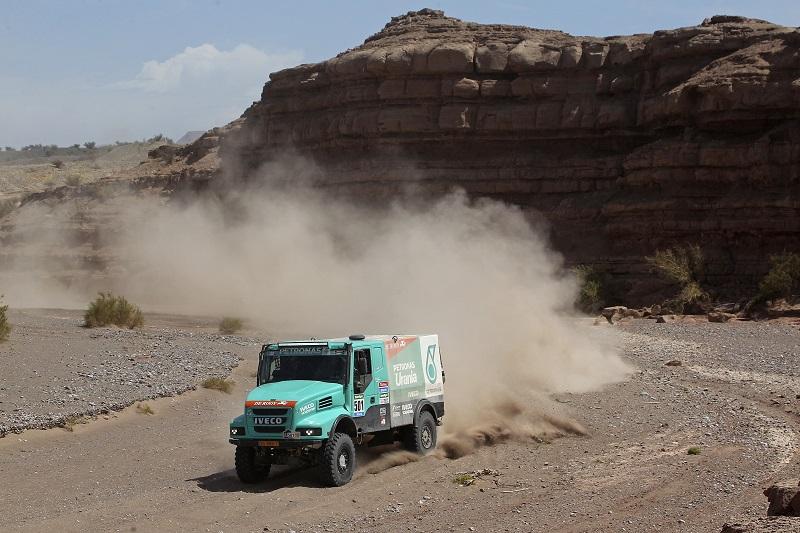 De Rooy in betere tijden tijdens deze Dakar (PRO SHOTS/Dppi)