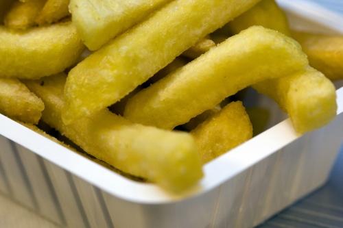 'Thuis laten bezorgen van eten in de lift'