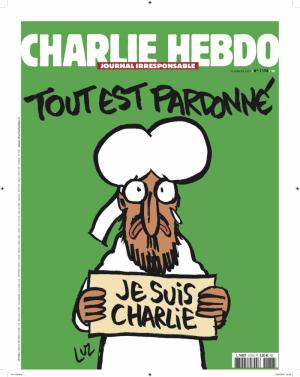 Cover Charlie Hebdo 14-01-2015
