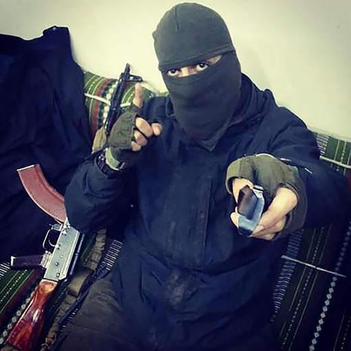 Jihadstrijder Soufian uit Den Haag (Foto: -)