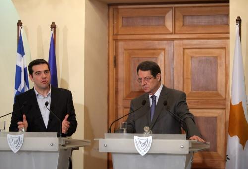 Griekenland krijgt steun van Cyprus
