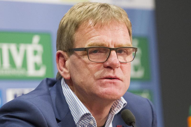Dwight Lodeweges is ook komend seizoen trainer bij sc Heerenveen. (PRO SHOTS/Erik Pasman)