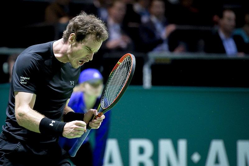 Murray begint goed in Rotterdam (PRO SHOTS/Jan Kok)