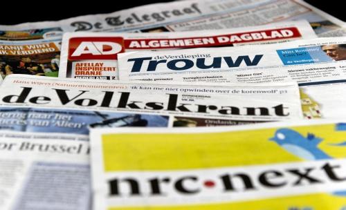 'Krant lezen geen dagelijkse routine meer'