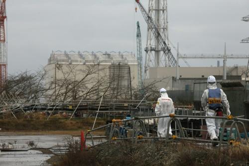 Radioactief water lekt in zee Fukushima